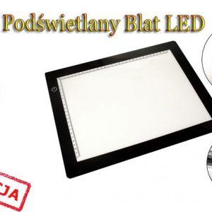 Podświetlane blaty LED z akcesoriami